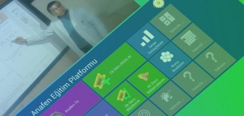 2014 Anafen Eğitim Platformu Uygulamaları