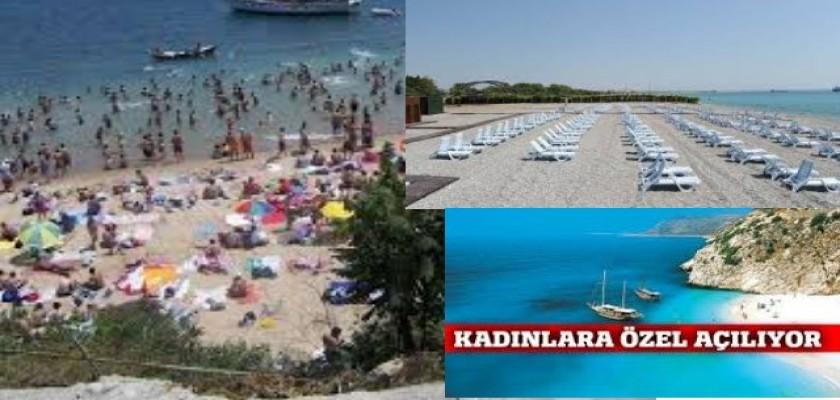 İstanbul'da Özel Kadın Plajı