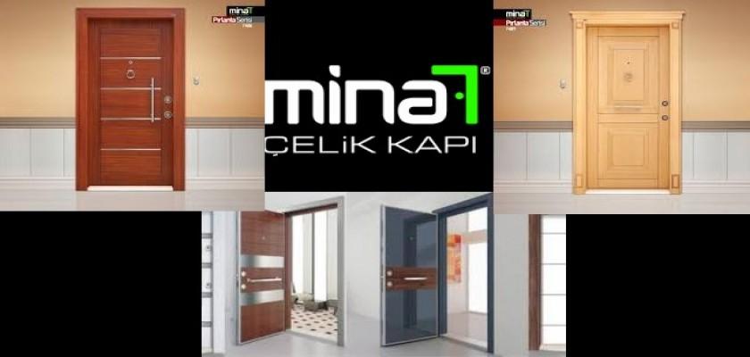 Binalarda Dış kapı Markası Mina Çelik Kapı