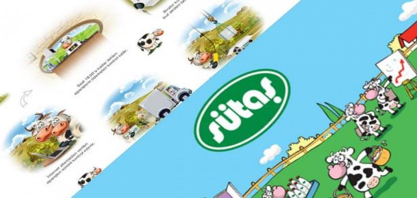 2014 Sütaş Online Satış Sitesi