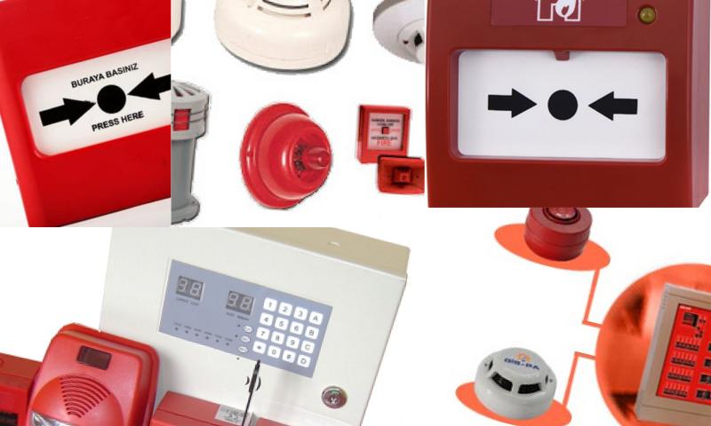 İşlevsel Yangın Alarm ve Algılama Sistemleri